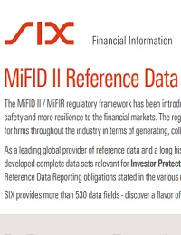 MIFID REFERENCE DATA