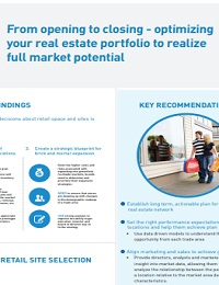 RETAIL CUSTOMER EXPERIENCE UPDATE RETAIL INFOGRAPHIC FOR LOCATION ANALYSIS & STRATEGY