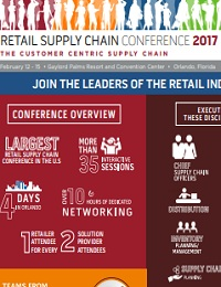 RETAIL SUPPLY CHAIN CONFERENCE 2017