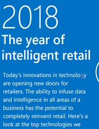 2018 THE YEAR OF INTELLIGENT RETAIL