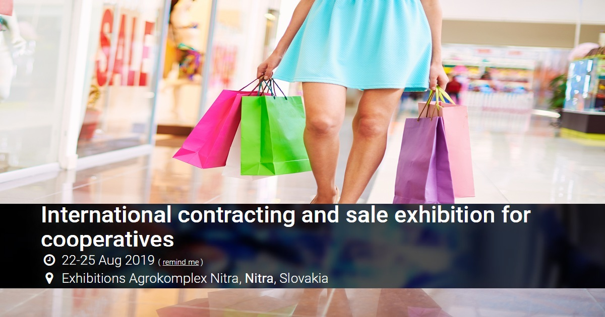 International contracting and sale exhibition for cooperatives