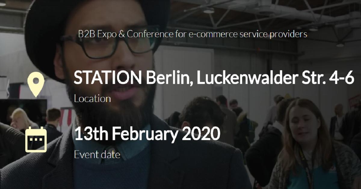 B2B Expo & Conference for e-commerce service providers