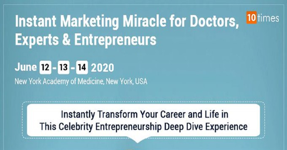 Instant Marketing Miracle for Doctors, Experts & Entrepreneurs