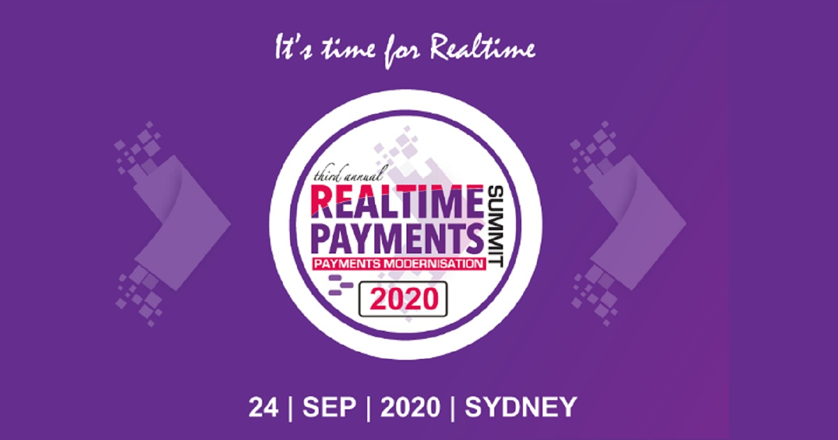 Real Time Payments Summit 2020 Sydney
